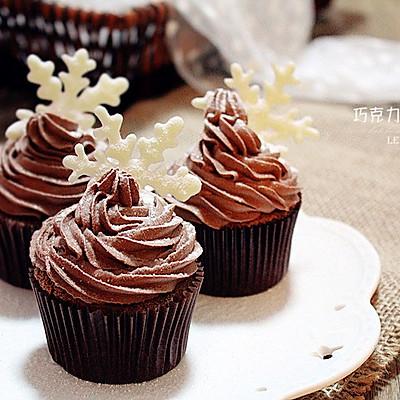 巧克力雪花蛋糕