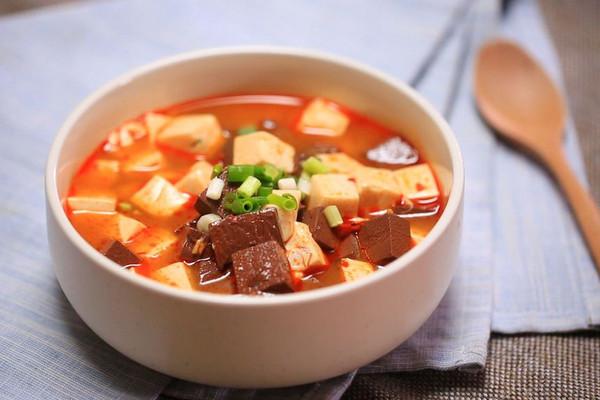 鸳鸯豆腐-迷迭香的做法