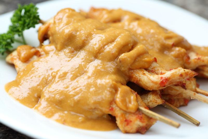 曼步厨房 - 马来美食 - 沙爹鸡串