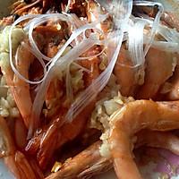 蒜蓉开背虾的做法图解5