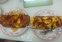 阴阳面双煎蛋包饭的做法