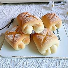 超软日式牛奶面包卷