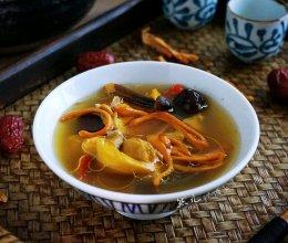 虫草花煲鸡汤的做法