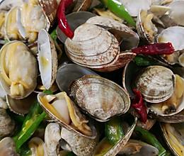 辣炒花蛤~胶东特色美食的做法