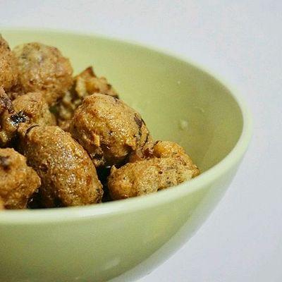 豆腐香菇丸子