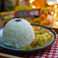牛肉丸时蔬咖喱饭#百梦多Lady咖喱#