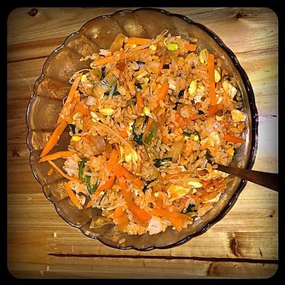 韩国泡菜拌饭