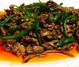 青椒牛肉丝的做法