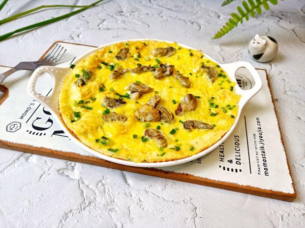 年夜饭必备菜之蛎黄跑蛋的做法
