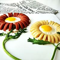 早餐香肠煎蛋的做法图解7