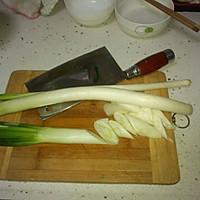葱爆肉的做法图解2