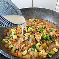 #520,美食撩动TA的心!# 鸡丁炒杂蔬的做法图解14