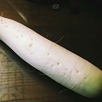 酸甜微辣、开胃爽口的佐餐小菜 : 爽脆白萝卜条的做法图解1