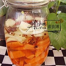 自制酸辣泡菜(传统中式腌制)
