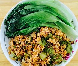 杏鲍菇炒饭低热量的做法