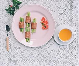 快手早餐  培根芦笋卷    清清爽爽吃个夏日早餐的做法