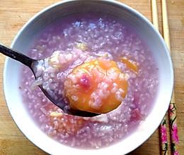 新手零失败(厨房神奇电饭煲版)双薯粥#红薯紫薯粥的做法