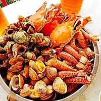 海鲜大咖(家常四种吃法烩)的做法图解7