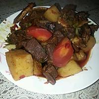 土豆烧牛腩的做法图解9