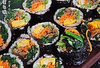 韩式紫菜包饭│料超足的做法
