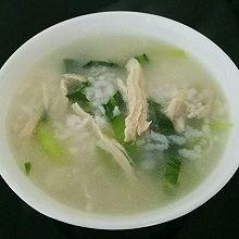 鸡丝菜泡饭