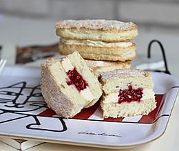 树莓奶酪达克瓦兹的做法