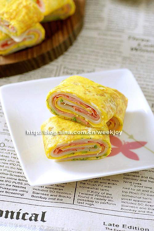 早餐蛋饼卷的做法