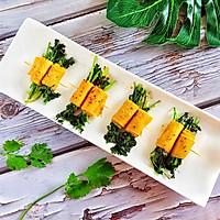 #硬核菜谱制作人#烤菜卷的做法图解12