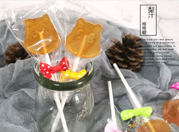 梨汁棒棒糖的做法