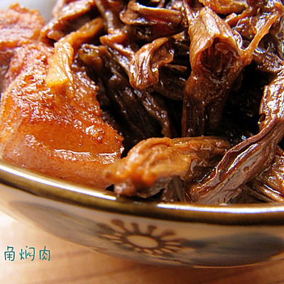 下饭菜——豆角干焖肉