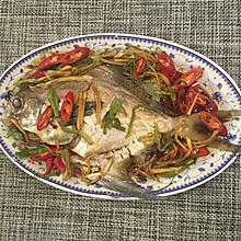 清蒸鲳鳊鱼