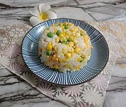 蛋炒饭的做法