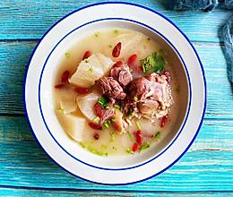 #夏日撩人滋味#三伏天的羊肉汤的做法