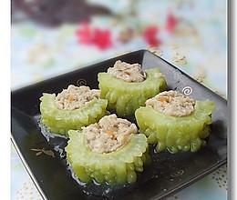 母亲节为婆婆设计的一道降糖降压菜——燕麦苦瓜酿的做法