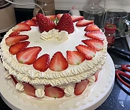 生日蛋糕(家庭简易版)的做法