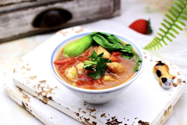 #《风味人间》美食复刻大挑战#鳕鱼番茄羹的做法