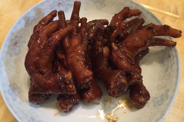 酱油鸡爪的做法