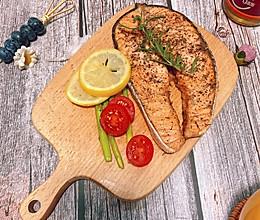 香煎三文鱼的做法