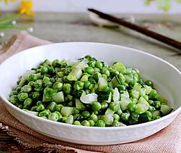 瓜丁豌豆的做法