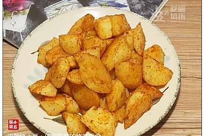 孜然烤土豆:值得推荐的烤箱零食
