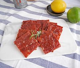 肉感十足会爆汁的 蜜汁猪肉干的做法