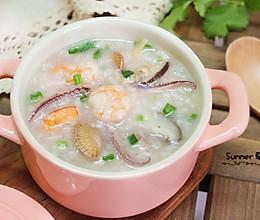 砂锅海鲜粥的做法