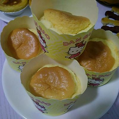 纸杯酸奶蛋糕