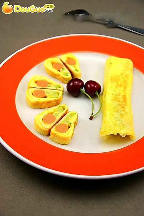 小小食材的美味:如意蛋卷的做法