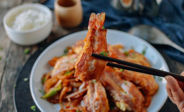 培根蝴蝶虾   漂洋过海的美式中餐,酥脆鲜香孩子最爱的做法