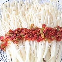 剁椒金针菇的做法图解4