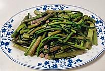 素炒紫菜苔的做法