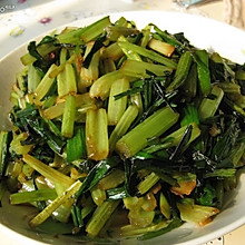 芹菜炒蒜苗