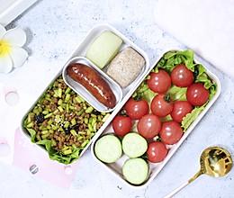 #monbento为减脂季撑腰#【肉末蒜苔便当】 下饭菜的做法