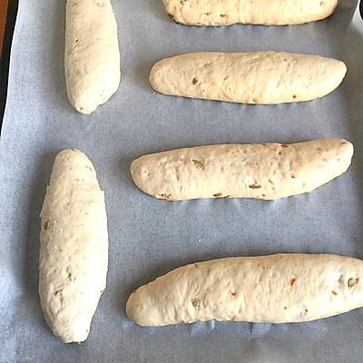 健康橄榄全麦素面包的做法 步骤8